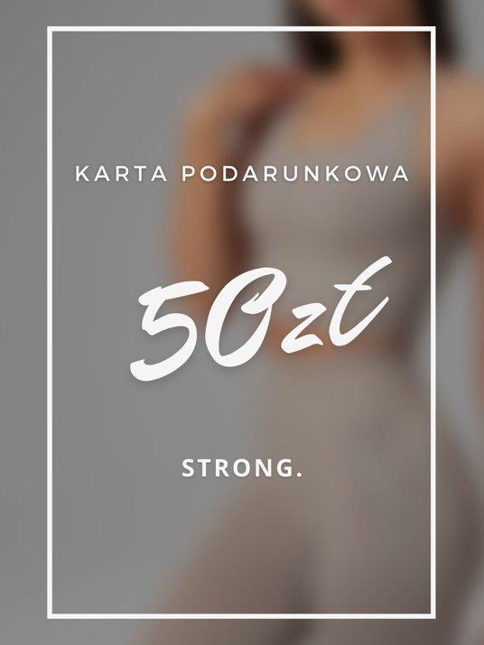 Karta podarunkowa 50ZŁ