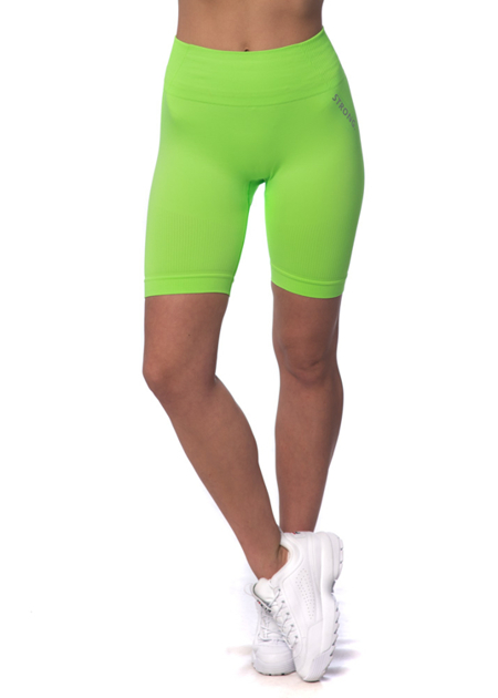 STRONG. -  BEZSZWOWE BIKERY NEON YELLOW-GREEN (PUSH UP)